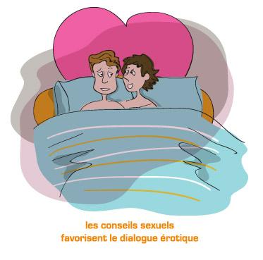 Traitement de la dysfonction érectile - conseils sexuels